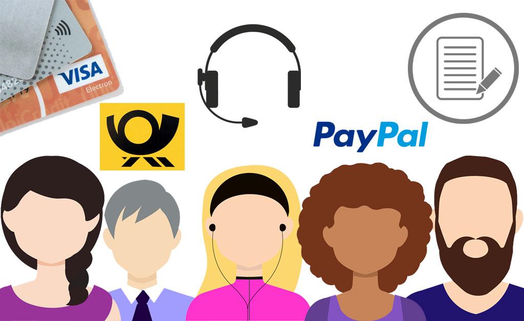 Vorverkaufskanäle POS und Zahlungsmittel-ticketino