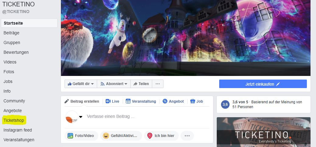 Facebook-Ticketshop-erstellen